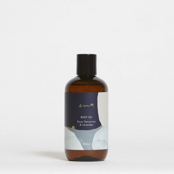 Body Oil - Rose Geranium & Lavender