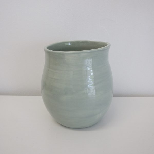 Batch# Ceramics Blossom Vase Ghost Gum